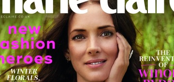 Winona Ryder on fashion: 'I wear things over and over because I like them'