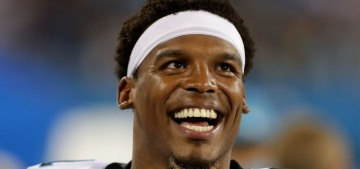 Cam Newton apologizes for 'extremely degrading, disrespectful' word choice