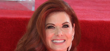 Debra Messing got a star on the Hollywood Walk of Fame