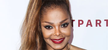 Janet Jackson's trainer doesn't do cardio with her, just weight training