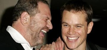 Matt Damon helped Harvey Weinstein shut down a NYT exposé in 2004