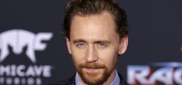 Tom Hiddleston's glorious ginger beard isn't a story about Harvey Weinstein