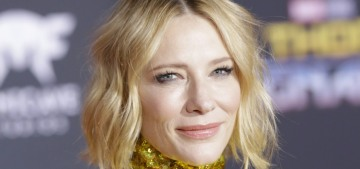 Cate Blanchett in glittery Gucci at the 'Ragnarok' premiere: stunning or nah?