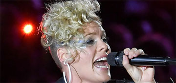 Pink to Donald Trump: 'You are doing a terrible job, worse than every other job'