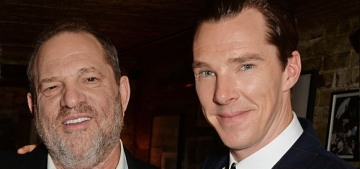 Benedict Cumberbatch is 'utterly disgusted' by Weinstein's 'horrifying' actions