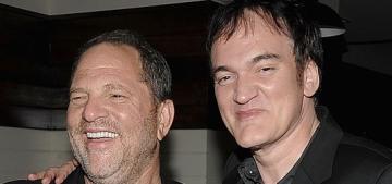 Quentin Tarantino & Oliver Stone make statements about Harvey Weinstein