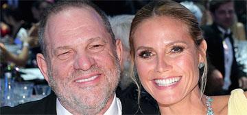 Heidi Klum makes statement on Weinstein as his Project Runway credit is revoked