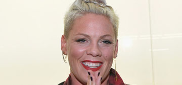 P!nk on her marriage:  there are 'times when you haven't had sex in a year'