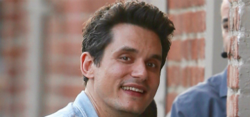 John Mayer gave himself a diamond-encrusted Dude pendant for his 40th birthday