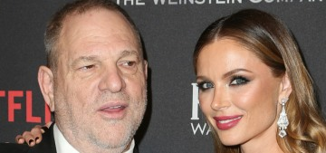 People: Georgina Chapman 'was never with Harvey when he behaved like this'