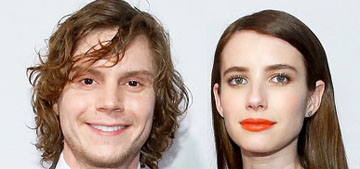 US: Emma Roberts and Evan Peters are 'still very much together'