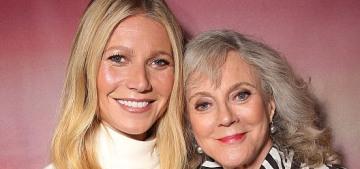 Blythe Danner slams NYT columnist Maureen Dowd over Weinstein op-ed
