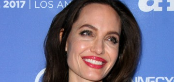 Angelina Jolie in Ulyana Sergeenko at 'The Breadwinner' premiere: regal or meh?