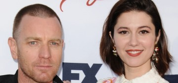 Did Ewan McGregor leave his wife for his costar Mary Elizabeth Winstead?