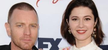 Did Ewan McGregor leave his wife for his costar Mary Elizabeth Winstead?