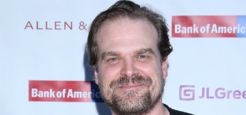 David Harbour: 'I want to bring love handles and eating sandwiches back'