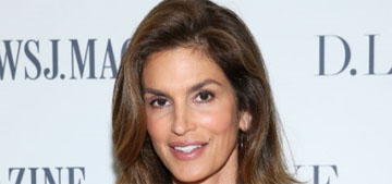 """Cindy Crawford on her steamy bath scene in George Michael's """"Freedom"""" video"""