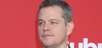 Oh, right, Matt Damon did know that Harvey Weinstein harassed Gwyneth Paltrow