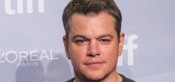 Matt Damon's current Weinstein defense: 'I never saw anything in front of me'