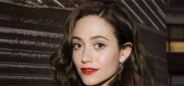 Emmy Rossum has 'been thinking about how beauty and feminism can coexist'