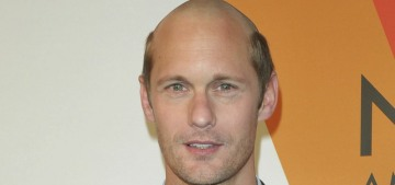 Alexander Skarsgard shaved off half of his hair for a movie: love it or hate it?