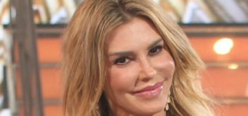 Brandi Glanville & her boyfriend 'dressed up' as LeAnn & Eddie for Halloween
