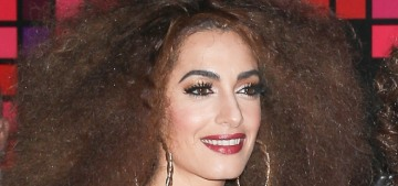Amal Clooney went full '70s glam for the Casamigos Halloween party