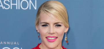 Busy Philipps' daughter dressed like Busy for Halloween