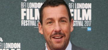 Adam Sandler repeatedly touched Claire Foy's leg on 'The Graham Norton Show'
