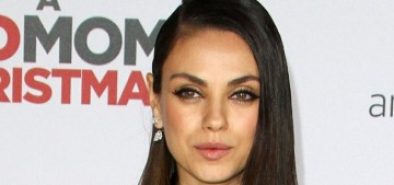 Mila Kunis in Cushnie et Ochs at the 'Bad Moms Christmas' premiere: amazing?