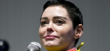 There's a warrant out on Rose McGowan for felony possession in Virginia