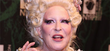Bette Midler went green for her annual Hulaween benefit