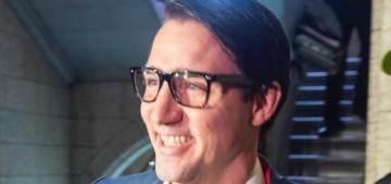 Please enjoy PM Justin Trudeau's 'Sexy Clark Kent' Halloween costume