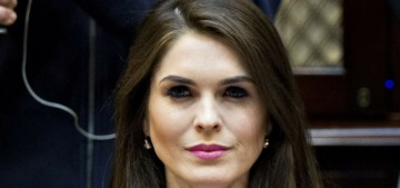 Hope Hicks is scheduled to give a day-long interview to the FBI this month