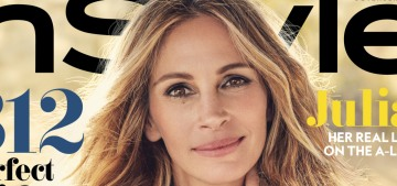 Julia Roberts' life advice: 'Marry the right person, give birth to a redhead'