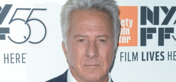 Dustin Hoffman is also a flaming bag of garbage too, which we already knew