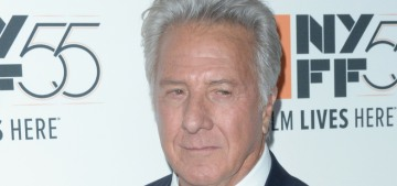 Variety: Dustin Hoffman sexually harassed a young playwright in 1991