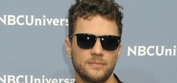 Ryan Phillippe was seen leaving Demi Lovato's house in 'the wee hours'