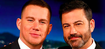 Jimmy Kimmel & Channing Tatum tell their kids they ate all their candy