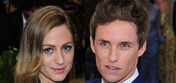 Eddie Redmayne's wife, Hannah Bagshawe, is pregnant with their second child