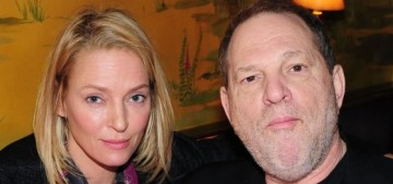 Uma Thurman on Harvey Weinstein: 'When I'm ready, I'll say what I have to say'