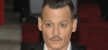 Johnny Depp was allegedly wasted at the London 'MOTOE' premiere