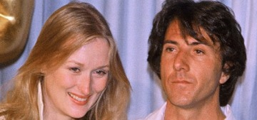 Dustin Hoffman possibly groped Meryl Streep the first time they met?