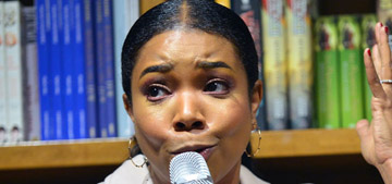 Gabrielle Union tried to cure a yeast infection by putting yogurt up there