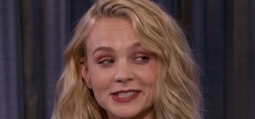 Carey Mulligan flunked her British driver's test five separate times…???