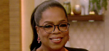 Oprah Winfrey: we don't let a-holes on our movie sets