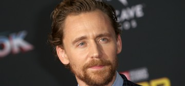 Tom Hiddleston stepped out with a brunette just before Swifty's album dropped