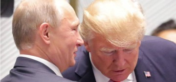 Donald Trump on Putin: 'He said he didn't meddle…I think he is very insulted by it'