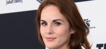 Michelle Dockery on the death of her fiance: 'I refer to myself as a widow'