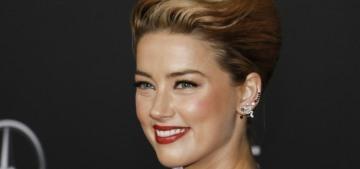 Amber Heard: 'I don't want to be the princess. I want to be the prince'
